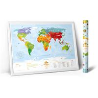 Карта travel map kids sights, 1DEA.me