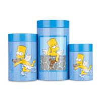 Набор 3пр баночек для печенья Simpsons, BergHOFF