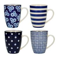 Kitchen Craft Набор из 4 кружек London Pottery
