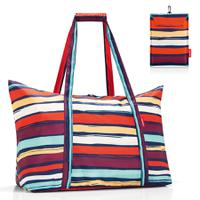Сумка складная Mini maxi travelbag artist stripes