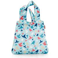 Сумка Mini maxi shopper origami blue