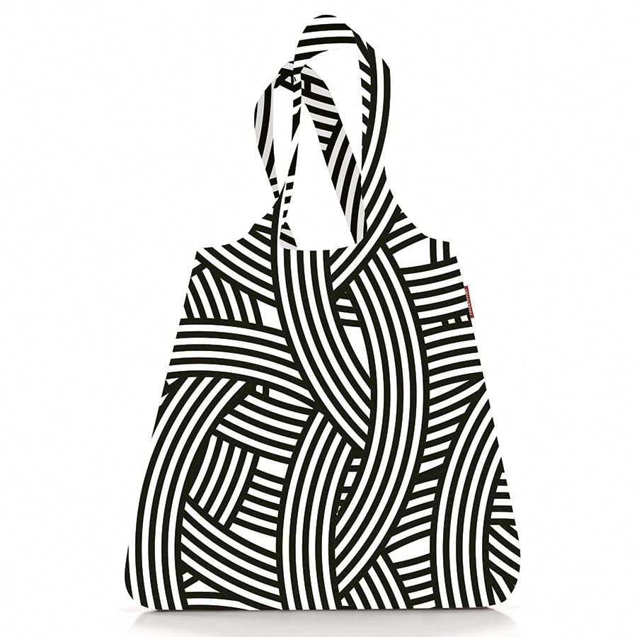 Сумка складная mini maxi shopper zebra, Reisenthel