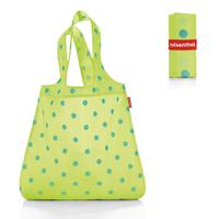 Сумка складная mini maxi shopper lemon dots, Reisenthel