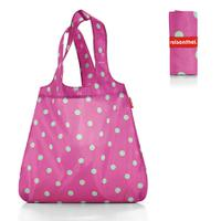 Сумка складная mini maxi shopper magenta dots, Reisenthel