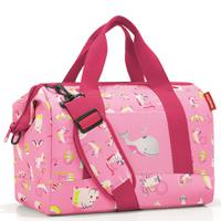 Сумка детская allrounder m abc friends pink, полиэстер, Reisenthel