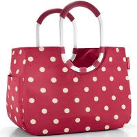 Сумка Loopshopper L ruby dots