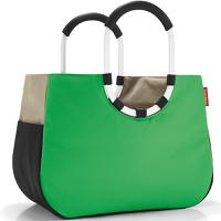 Сумка Loopshopper L patchwork green