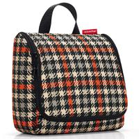 Сумка-органайзер Toiletbag glencheck red, Reisenthel