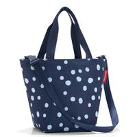 Сумка shopper xs spots navy, Reisenthel