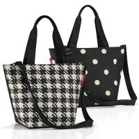 Сумка Shopper XS fifties black, Reisenthel